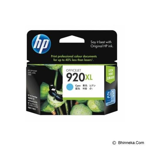 HP Cyan Ink Cartridge 920XL [CD972AA] - Tinta Printer HP
